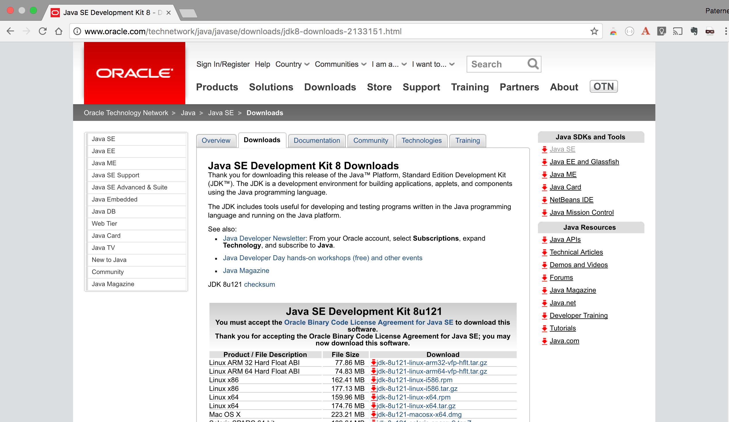 Installer Java en ligne de commande sur une machine Linux